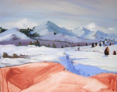 Kennedy Meadows Hot Rock, Painting, Oil on Canvas