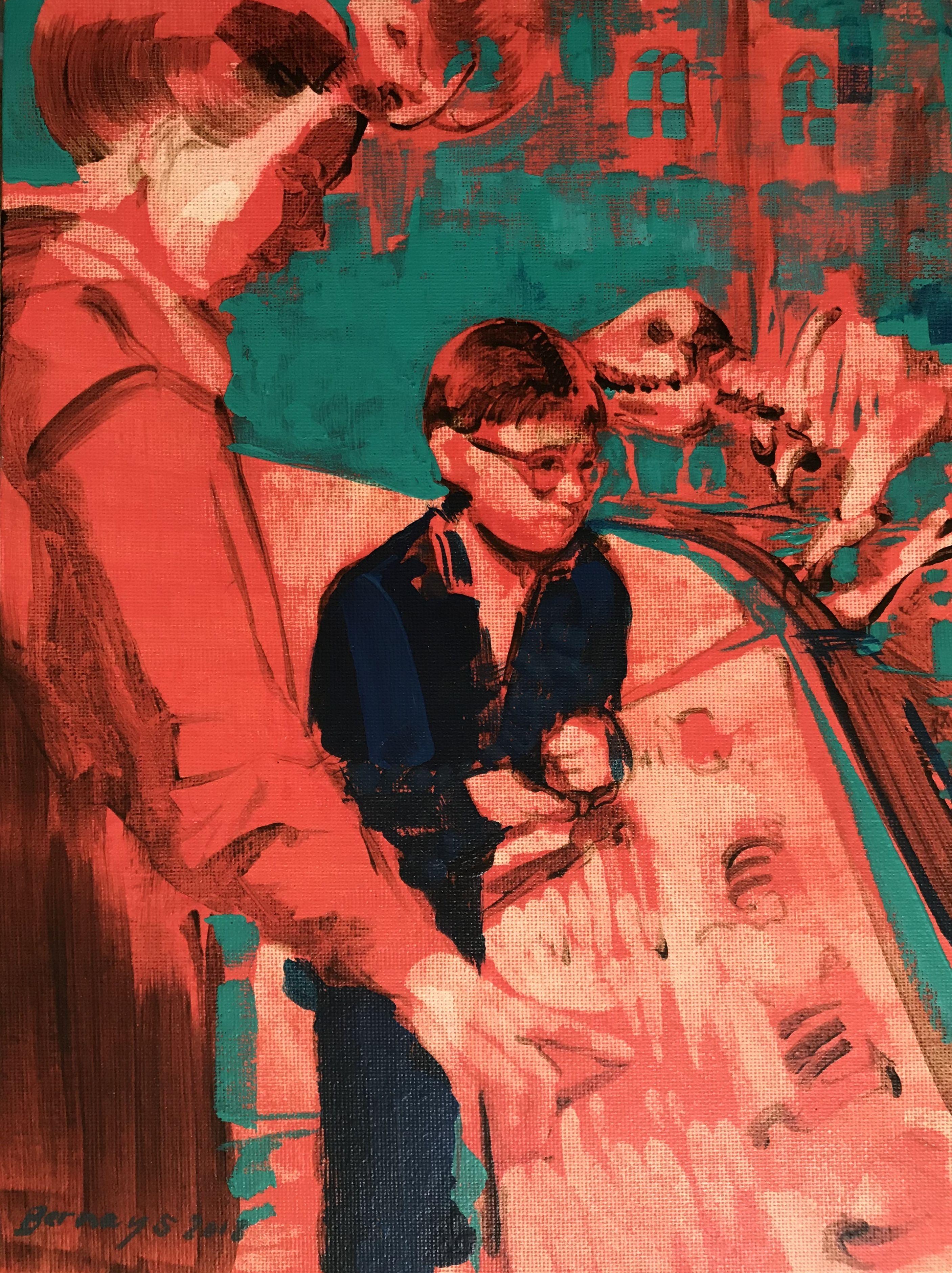 Mammoth Momma, Painting, Acrylic on Canvas