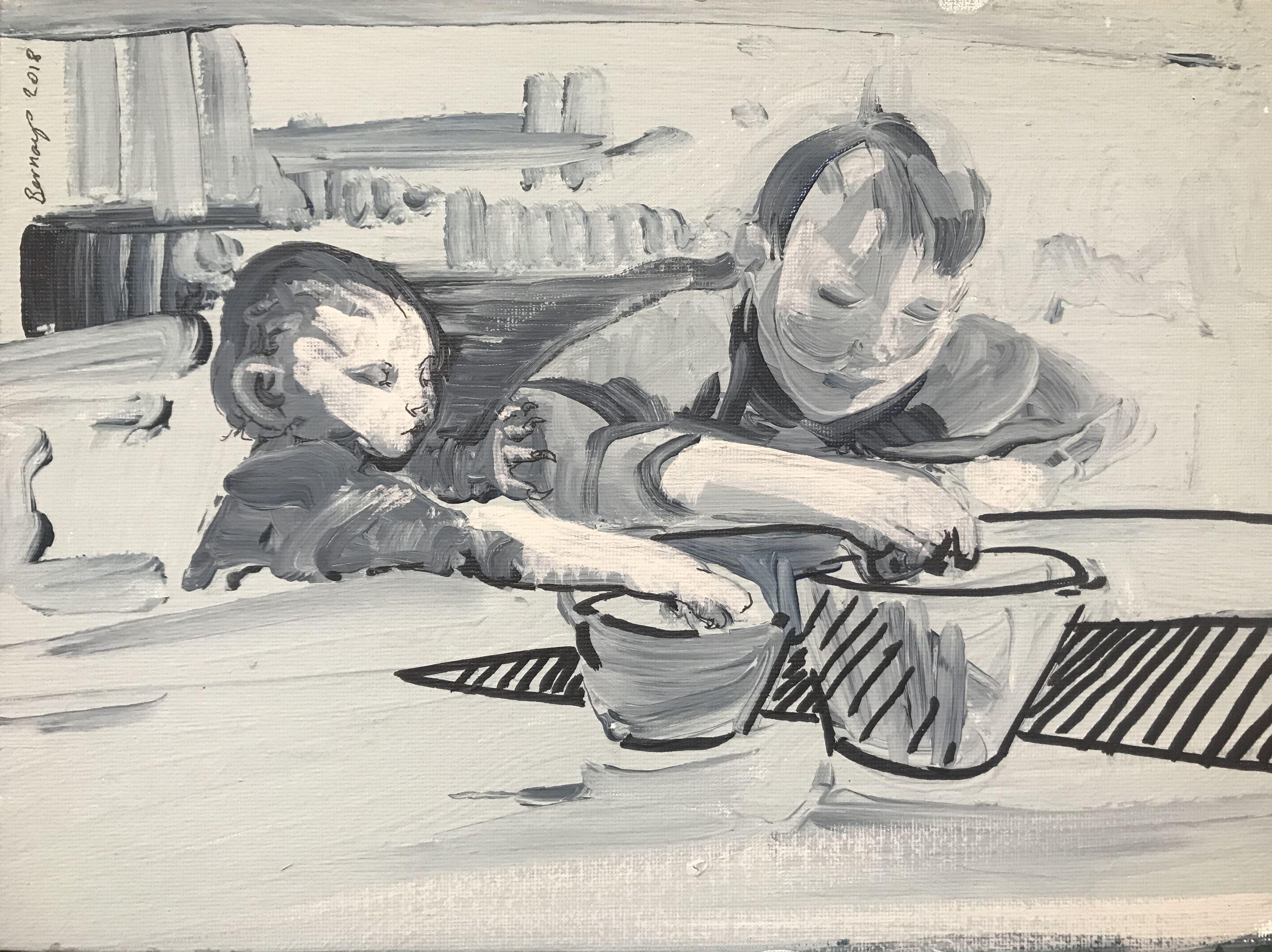 Mine, Painting, Acrylic on Canvas