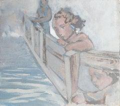 My Mothers Bridge, Painting, Acrylic on Canvas