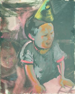 Party Pooper, Painting, Oil on Canvas