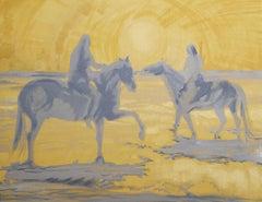 Salt Dancers, Painting, Acrylic on Canvas