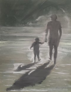 The Father, Painting, Oil on Canvas