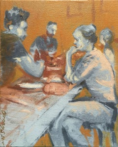 The Genius Date, Painting, Oil on Canvas