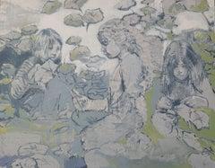The Nest, Painting, Acrylic on Canvas