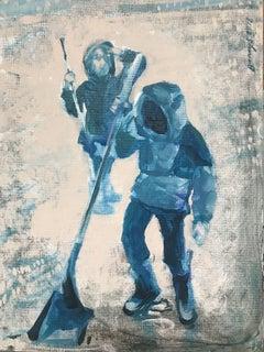 The Rain Salute, Painting, Acrylic on Canvas