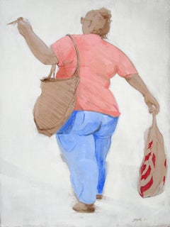 Triumph At The Shops, Painting, Oil on Canvas