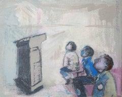 Where'd She Go, Painting, Acrylic on Canvas
