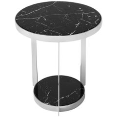 Amy Black Side Table