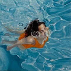 Amy Devlin, Delphinus, Contemporary Art, Figurative Art, Original Painting