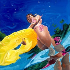 Amy Devlin, Distortion 5, Original Figurative Art, Contemporary Art
