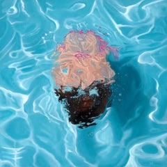 Amy Devlin, Harmony, Contemporary Art, Affordable Painting, Swimming Pool Art