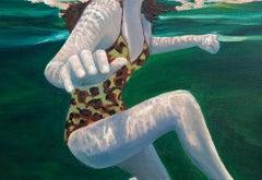 Amy Devlin, Pause, Original Painting, Affordable Art, Contemporary Art