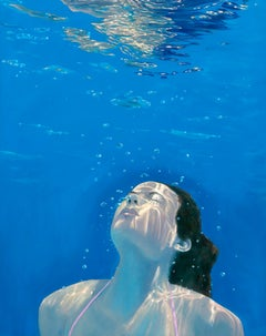 Amy Devlin, Rising to the Sun, Figurative Art, Contemporary Art, Affordable Art