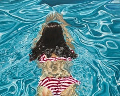 Aphaea, Amy Devlin, Original Painting, Affordable Art, Water Painting