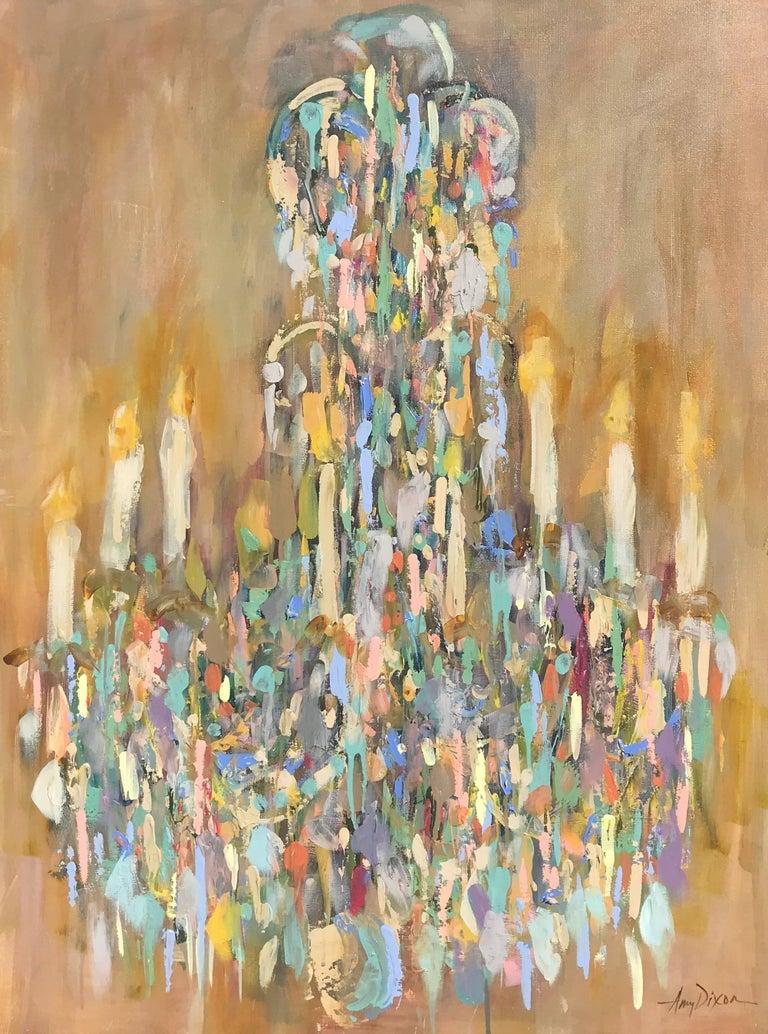 Amy Dixon Chandelier Degas Post Impressionist Vertical