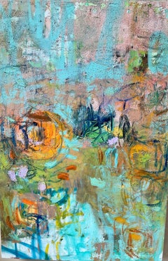 """Journey into Creation; Amy Donaldson Oil on canvas 36"""" x 24"""" x 2 1/2"""""""