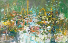 Peace in the Waiting; Amy Donaldson Oil on Canvas, 32 x 50 in.