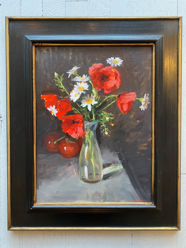 Poppies - Painting by Amy Florence