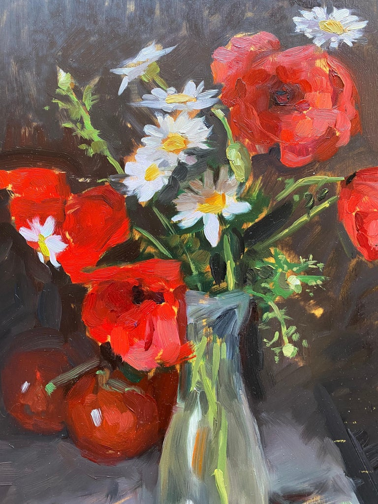 Poppies - Impressionist Painting by Amy Florence