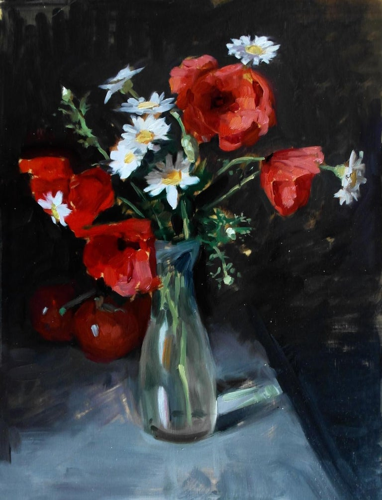 Amy Florence Interior Painting - Poppies