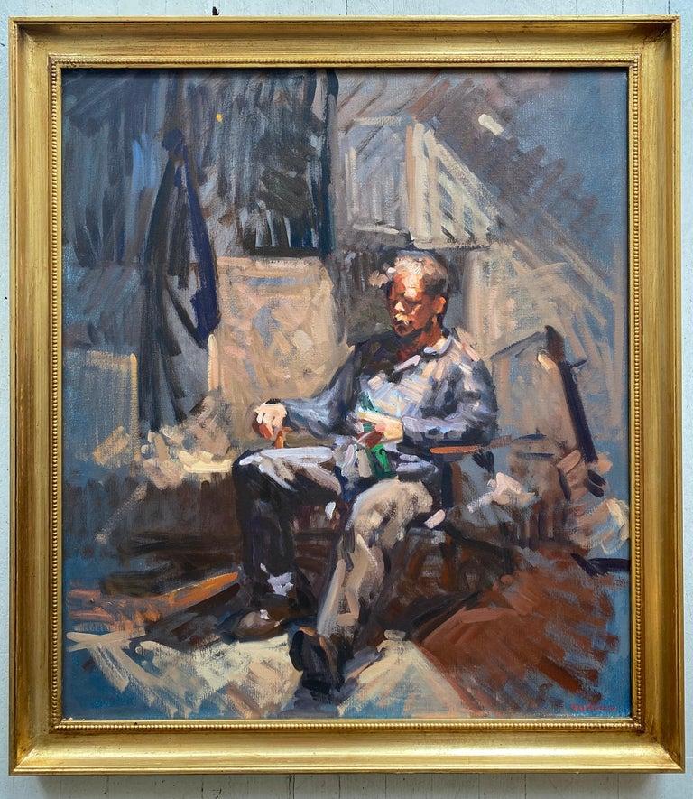 Amy Florence Portrait Painting - Portrait of Ben Fenkse