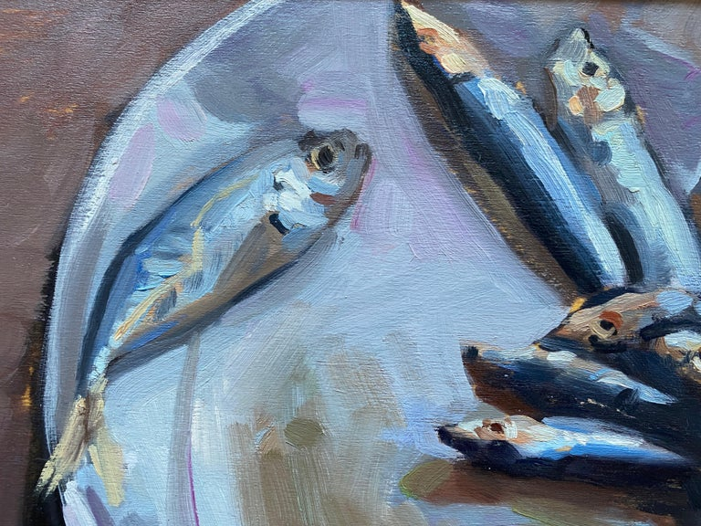 Sardines on a Plate For Sale 8