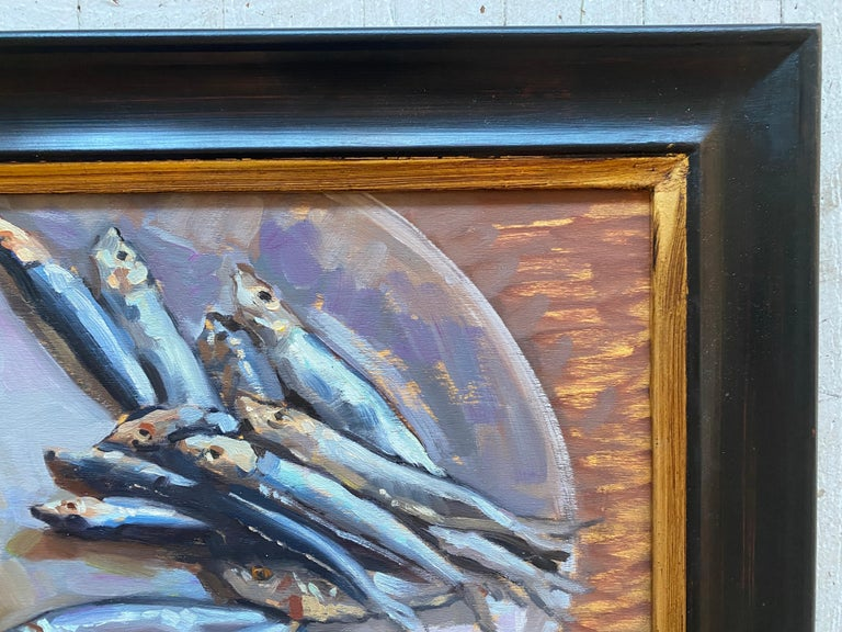 Sardines on a Plate For Sale 1