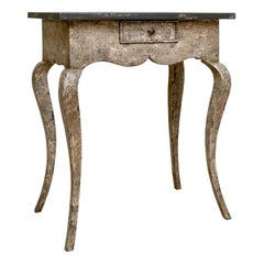 Amy Howard Collection Paint Decorated Country French Style Side Table
