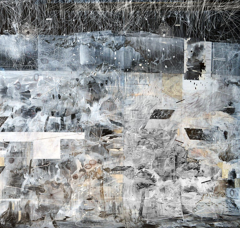 Animate Ground 2 - Mixed Media Art by Amy Schissel
