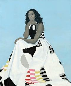 Michelle Obama White House Portrait by Amy Shearld 2018