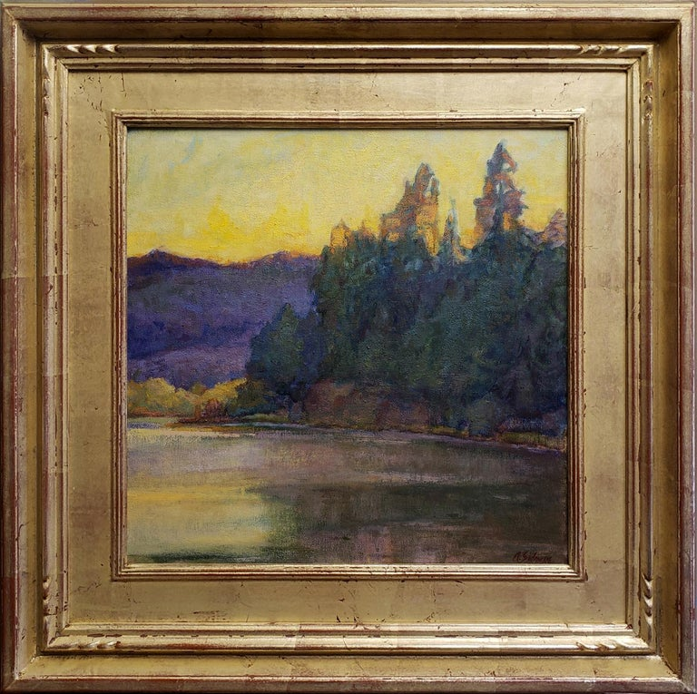Amy Sidrane Landscape Painting - Afterglow