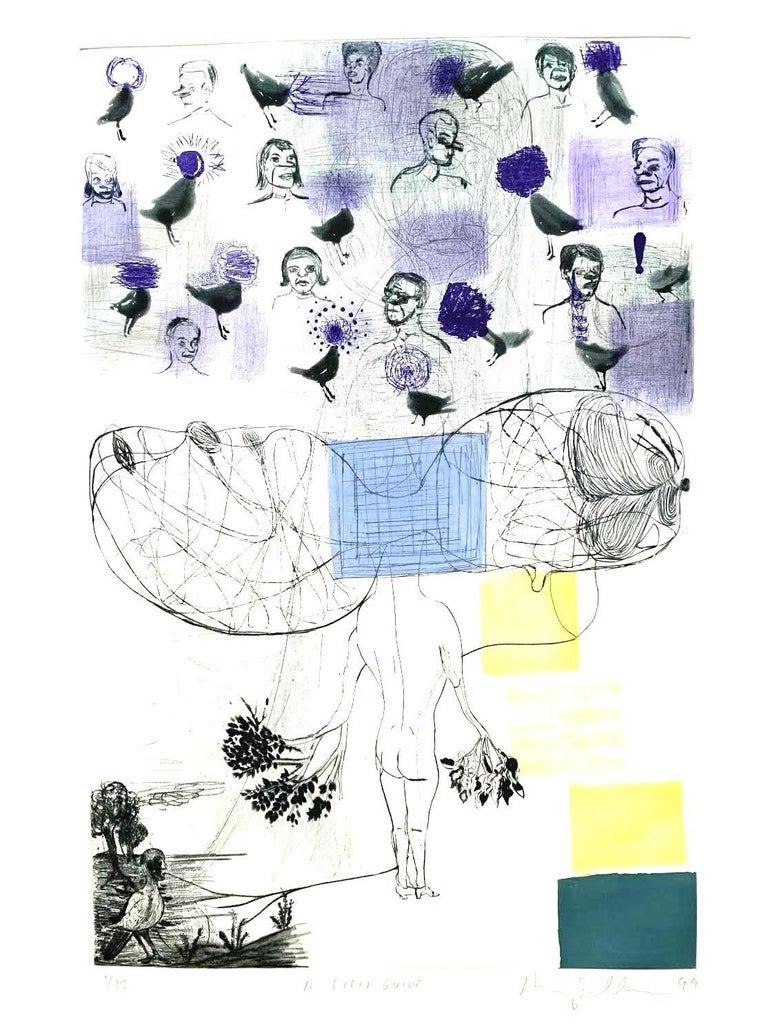 A Field Guide - Print by Amy Sillman