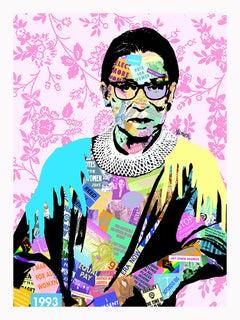 """Ruth Bader Ginsberg""  Framed Giclee Print"