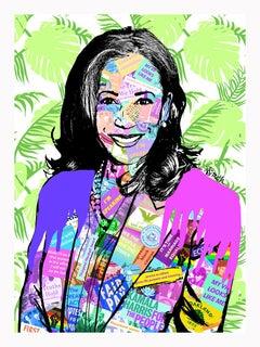 Kamala Harris - Contemporary POP Art Portrait of Vice President Elect
