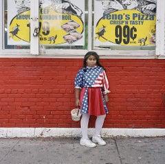 Untitled (Flag Girl)