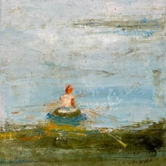 Change of Direction by Amy Sullivan, Contemporary Mixed Media Painting
