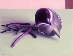 Eggplant and Purple Beans