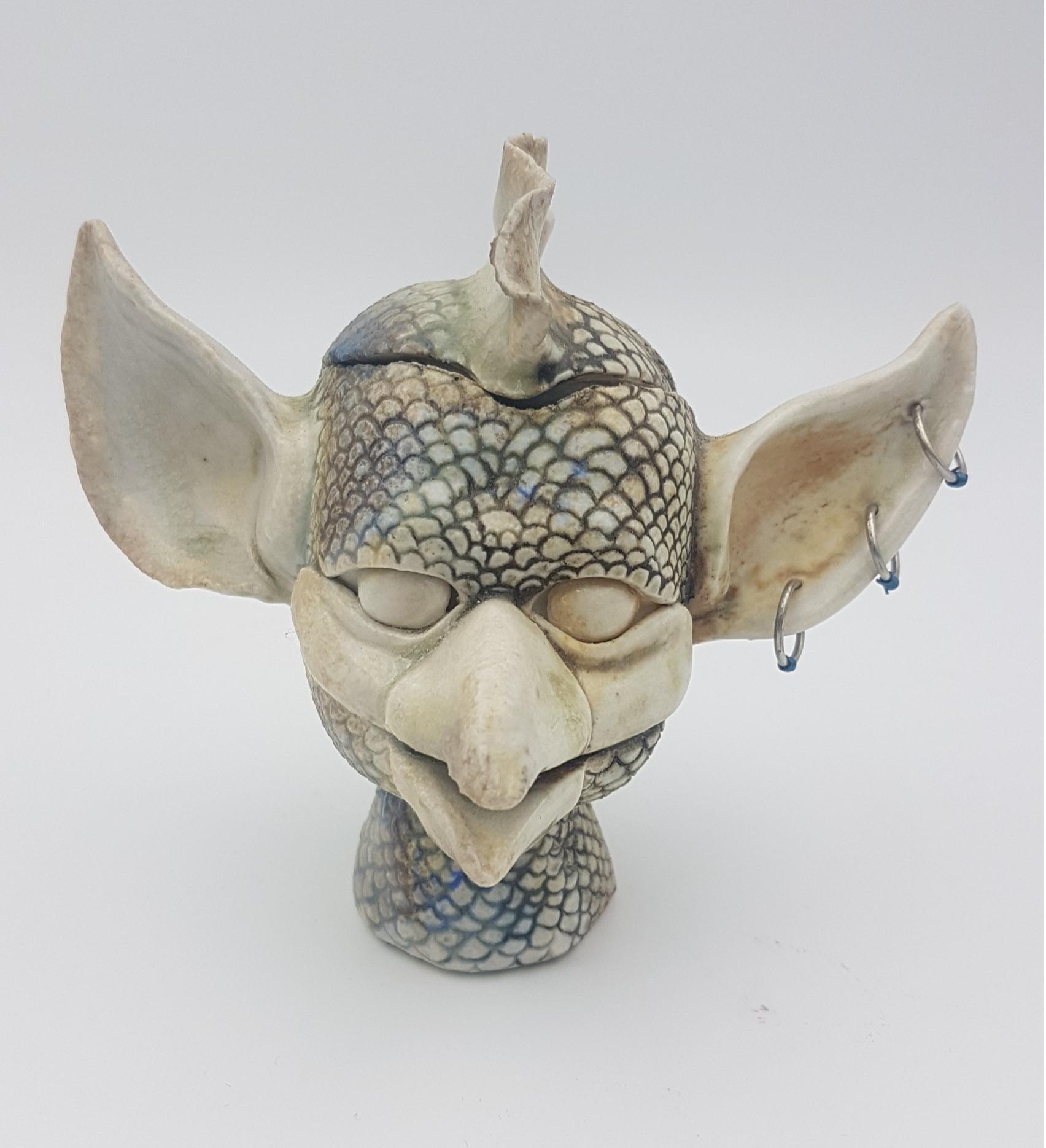 Pierced Gargoyle Box