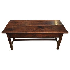 18th Century Antique Elm Coffee Table