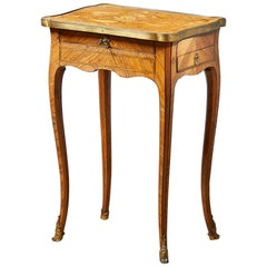 18th Century French Ormolu Mounted Side Table