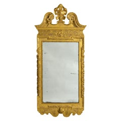 18th Century George II Period Kentian Giltwood Mirror