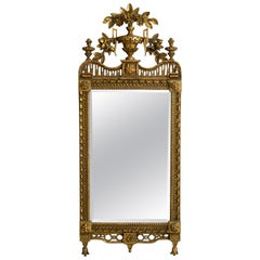 18th Century Giltwood Pier Mirror
