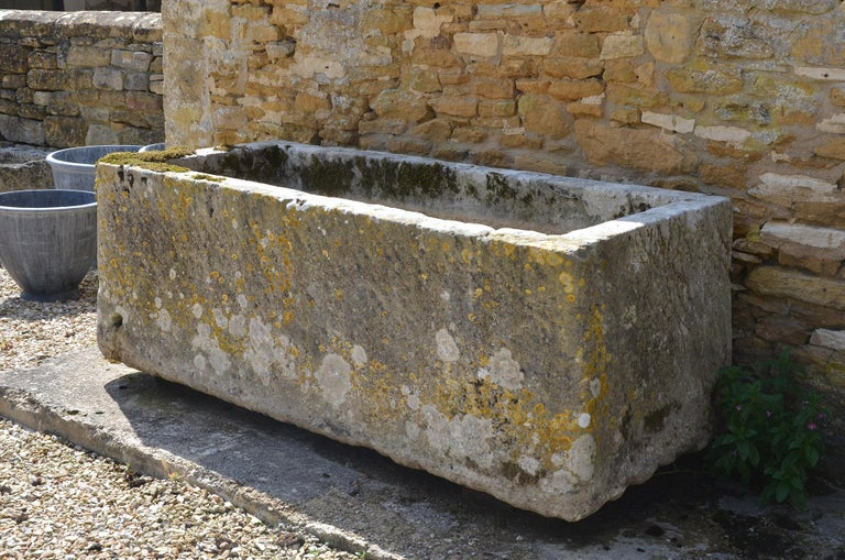 French 18th Century Large Stone Trough For Sale