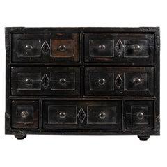 An 18th Century Spanish Walnut Cabinet