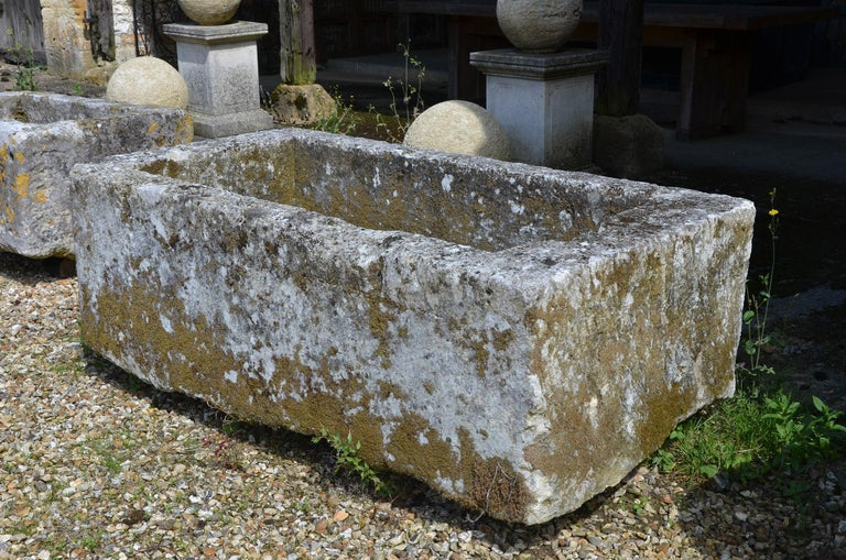 French 18th Century Stone Trough For Sale