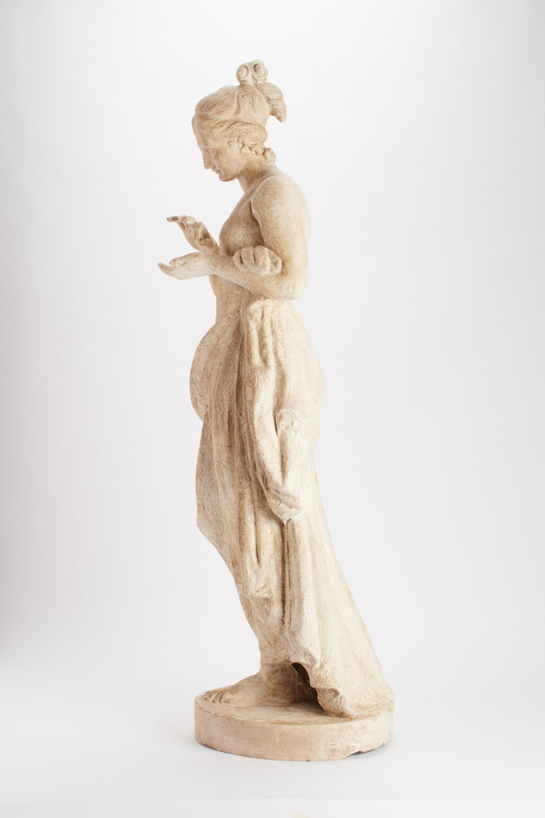 Italian Academic Cast Depicting a Psyche, Italy, 1890 For Sale