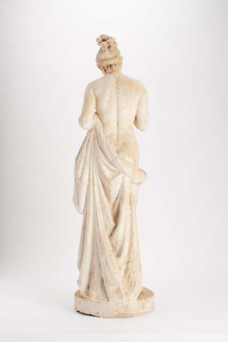 Academic Cast Depicting a Psyche, Italy, 1890 In Good Condition For Sale In Milan, IT