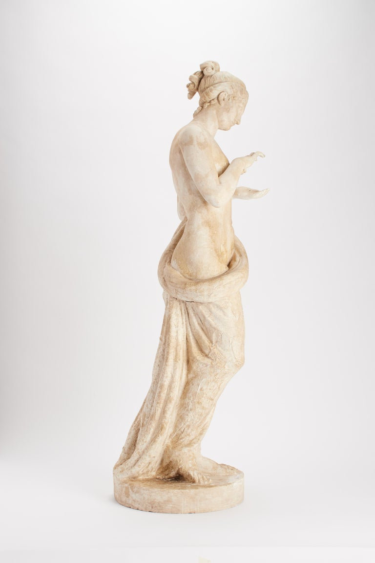 Plaster Academic Cast Depicting a Psyche, Italy, 1890 For Sale