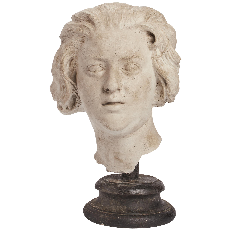 Academic Cast Depicting Costanza Bonarelli Head, Italy, 1890